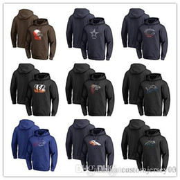 b33307dae Falcons Bills Panthers Bears Bengals Browns Cowboys Broncos Lions Packers  Pro Line by Fanatics Branded Gradient Logo Pullover Hoodie