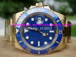 $enCountryForm.capitalKeyWord Australia - Box Certificate Luxury Wristwatch Stainless Steel Bracelet 116618 18K GOLD New Style Men Watch Sport Watches Men's Watch Watches