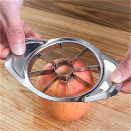 $enCountryForm.capitalKeyWord NZ - Apple Cutter Steel Slicer Vegetable Fruit Pear Peeler Divider Corer Dicing Kitchen Utensils Gadgets Tools Apple Cutter Knife
