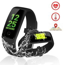 Ios Alarm NZ - V10 Smart Bracelet Watch Fitness Pedometer Blood Pressure Heart Rate Tracker Alarm Clock Message Reminder for IOS Andriod