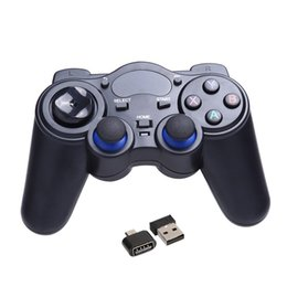 Tablet Wireless Controller Australia - 2.4G Wireless Game Gamepad Joystick Controller for TV Box Tablet PC GPD XD Android Windows with USB RF Receiver Game Control 6
