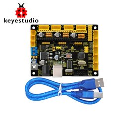 Chinese  New Keyestudio CNC GRBL V0.9 Shield Board +USB Cable for Arduino CNC Laser Engraving manufacturers