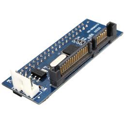 Pata adaPter online shopping - Freeshipping Converter Pin IDE Female SATA to Pin male adapter PATA SATA Card