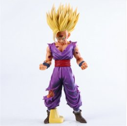 $enCountryForm.capitalKeyWord UK - Anime Dragon Ball Z Super Saiyan Son Gohan Action Figures Master Stars Piece Dragonball Figurine Collectible Model Toy