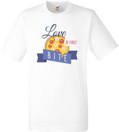 $enCountryForm.capitalKeyWord NZ - Love At First Bite ( Pizza ) T Shirt Tee Shirt Hipster Harajuku Brand Clothing T-shirt Design Short Sleeve Tee Shirt