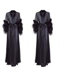 cd0af8581a Discount Feather Robe | Plus Size Feather Robe 2019 on Sale at ...