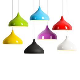 Purple pendant lamp shade australia new featured purple pendant modern colorful aluminum pendant lights industrial hanging lighting bar loft pendant lamp dining room diy lamp shades e27 mozeypictures Image collections