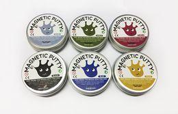 $enCountryForm.capitalKeyWord Australia - 6 Colors Magnetic Putty Magnetic Rubber Mud DIY Slime Creative Playdough Decompression Toys Devour Magnetic Mud