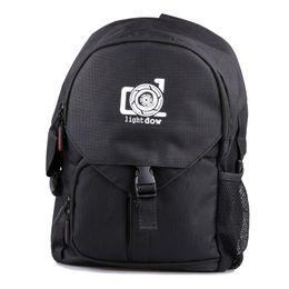LightDow Водонепроницаемая открытая камера фото сумка многофункциональная камера плеча рюкзак поездка фото сумка для канона Nikon DSLR камеры на Распродаже