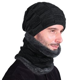 wrinkle hat 2019 - New style men's and women's knitted hats, knitted caps, wrinkles, thickening and heat retaining caps. discount