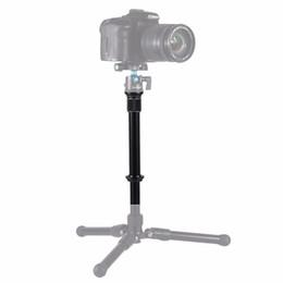 $enCountryForm.capitalKeyWord Australia - PULUZ Metal Handheld Adjustable Tripod Mount Monopod Extension Rod for DSLR & SLR Cameras
