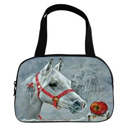 $enCountryForm.capitalKeyWord Canada - 2017 Hot Sale Kids Baby Bags Polyster Printing 3D Animal Horse Women Handbag for Teenager Boys Handle Bag for Ladies Casual Bag