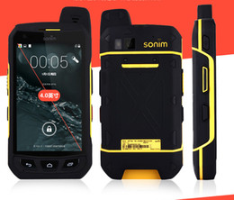 rugged phone android indonesia UK - Sonim XP7700 cell phone rugged Android Quad Core waterproof phone shockproof 3g 4g LTE FDD luxury phone Hot Sale 2018 New Arrival