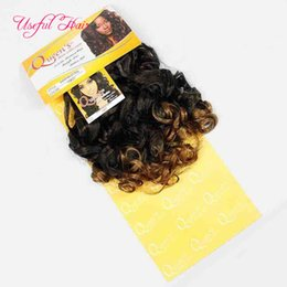 hair bleach for weave 2019 - 20inch weave hair bundles Brazilian hair bundles synthetic braiding Italian curly weaves closure synthetic braiding hair