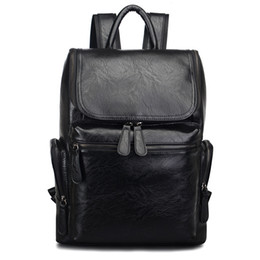 4f44fbc53eb7 Men Casual Fashion Backpack College Student Computer Satchel Large Retro  Schoolbag Travel Bag Brand Classic Shoulders Package