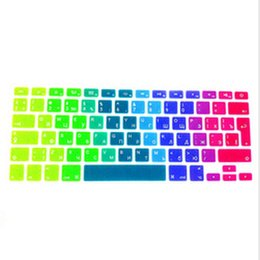 $enCountryForm.capitalKeyWord Australia - Russian UK Silicone Keyboard Cover Skin Protector For  MacBook Pro
