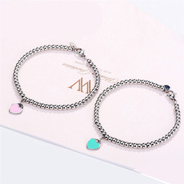 GS Stainless Steel Bangles For Women Ladies 2018 Summer Fashion Woman Bracelet Homme Wedding Engagement Jewelry G5 on Sale