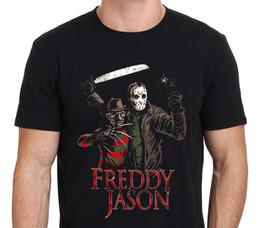 $enCountryForm.capitalKeyWord Canada - Create Your Own Shirt Crew Neck 3D Print Casual Freddy Krueger Vs Jason Short Top T Shirt For Men