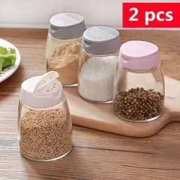 $enCountryForm.capitalKeyWord Australia - Storage Bottles & Jars Kitchen supplies glass seasoning storage bottle barbecue seasoning bottle double opening tank