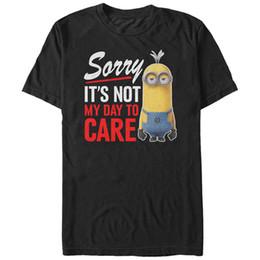 COLOUR MINION FACE STUART MENS T-SHIRT FUNNY GIFT PRESENT FOR FAN IDEA CUTE T-Shirts Men's Clothing