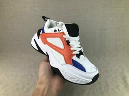 Wholesale 012018 Men s and Women s Casual Shoes Specials M2K Tekno Dad Designer Unisex Black Volt Discount Cheap Fashion Sneakers Size