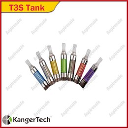 $enCountryForm.capitalKeyWord Australia - Original Kanger T3S Vapor Atomizer 14mm Diameter eGo 510 Thread Bottom Coil 8 Colors E-cigarette DHL