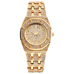 woman gold watches UK - Tops Designer Miss Brand Luxury Women Watches Best Selling Products Diamond Watch Waterproof Women Gold Watch 01