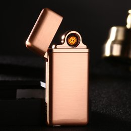 Lighter keychain online shopping - Hot Top quality Metal Keychain Cigarette lighter Men Charge lighter Key Chain Party Gift jewelry Key Ring