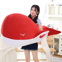 $enCountryForm.capitalKeyWord Canada - Kawaii Soft Cartoon Colorful Dolphin Plush Pillow Large Stuffed Soft Whale Fish Toy Doll Children Gift Decoration 47inch 120cm DY50315