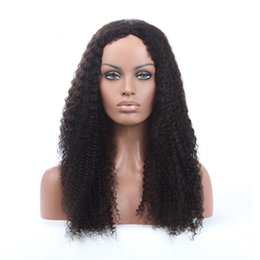 $enCountryForm.capitalKeyWord UK - 2018 100% unprocessed virgin remy human hair afro curly top aaaaaaa grade natural color full lace wig for women
