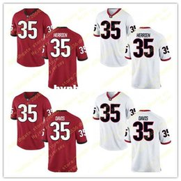$enCountryForm.capitalKeyWord NZ - Cheap Men's 35 Aaron Davis Jersey #35 Brian Herrien Georgia Bulldogs Alumni Stitched Black Red White Football Jerseys Big And Tall For sale