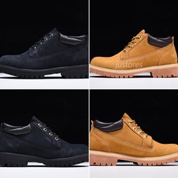 designer oxford shoes 2018 - 2018 Top Tbl Classic Oxford Waterproof Low Boots Luxury Dress Shoe Mens Designer Shoes cheap designer oxford shoes