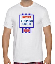 $enCountryForm.capitalKeyWord Canada - NEW MENS WOMENS VALUE STORE STRIPPER OUTFIT FUNNY JOKE COSTUME NOVELTY T SHIRT 2018 summer new men cotton Short sleeve T-shirt