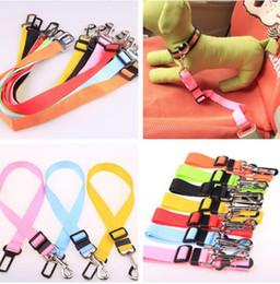 Clip Nylon Dog Collar Australia - Dog Safety Seat Belt Nylon Pets Vehicle Car Seatbelt Harness Lead Clip Dog Auto Traction Pet Supplies YW905