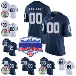 ea3b29e4f penn state jerseys 2019 - Custom Penn State Nittany Lions College Football  Limited white Navy Blue