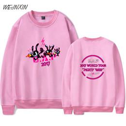 $enCountryForm.capitalKeyWord Australia - WEJNXIN B.A.P Pink Capless Hoodies For Men Women Unisex Kpop Fans Sweatshirt Fleece Warm Streetwear Pullovers Cotton Clothing