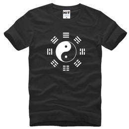 $enCountryForm.capitalKeyWord Canada - kung fu Tai Chi The Eight Diagrams Design Printed T Shirt Men New Short Sleeve O-Neck Cotton Men's T Shirt Fashion Gym Clothing