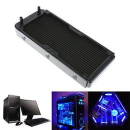 $enCountryForm.capitalKeyWord NZ - Water Cooling 240mm 18 Tubes Aluminum Radiator with Screws Heat Sink Part Exchanger CPU Heat Sink For Laptop Desktop Computer