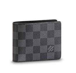 Diamond Id Wallet Australia - 2019 SLENDER ID WALLET N64002 Men Belt Bags EXOTIC LEATHER BAGS ICONIC BAGS CLUTCHES Portfolio WALLETS PURSE