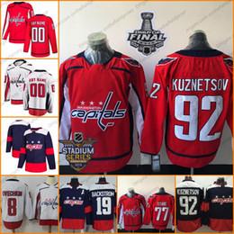 Washington Capitals 2018  20 Lars Eller 13 Jakub Vrana 18 Chandler  Stephenson 22 Madison Bowey Stitched Hockey Jerseys S-3XL 565e04652