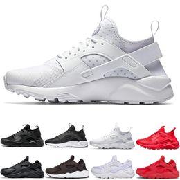 san francisco b676a 99aaf 2018 nuevo diseño Huarache 4 IV zapatillas para mujeres hombres, zapatillas  de deporte ligero huaraches deporte atlético Huarache zapatos al aire libre  36- ...