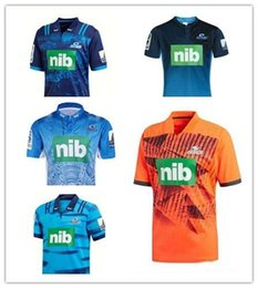 Discount auckland rugby 2017 New Zealand Blues rugby territory 2018-2019 Auckland Blues Rugby jersey 2017 Blues Rugby shirts Size S-3XL Free shi