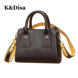 $enCountryForm.capitalKeyWord Canada - New Female Genuine Leather Handbags High Fashion Ladies Wind Shoulder Bags Genuine Leather Women's Versatile Soft Solid Handbags