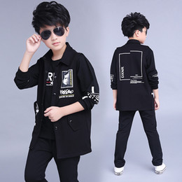 $enCountryForm.capitalKeyWord Canada - Clothes boys 2017 baby boys hoodied coats and jackets + pants sets korean fashion clothing sports suit kids tracksuit
