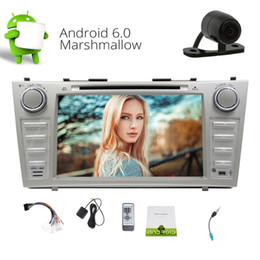 Camry touCh sCreen player online shopping - Car Entertainment Capacitive Touch Screen Android Marshmallow GPS Car DVD Player For Toyota Camry FM AM RDS Radio Recever