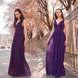 Dark Purple Beach Dress