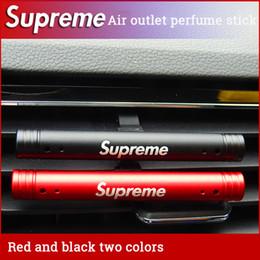 Wholese-Car Perfume Clip Imán Difusor 90 mm Acero Inoxidable Ambientador de Aire Acondicionador Respiradero Clip nueva llegada Estilo de personalidad.