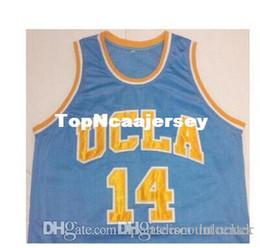 Short Basketball Jerseys Canada - A+ Free Shipping High Quality Cheap custom Men's Hot sale #14 Zach LaVine College basketball jerseys high quality embroidery Jerseys