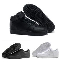 san francisco 70d47 22a08 NIKE Air Force 1 Leather AF1 2017 One 1 Uomo Donna Flyline scarpe casual,  Sport Skateboarding Scarpe High Low Cut Bianco Outdoor Sneakers da  ginnastica
