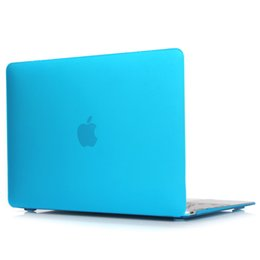 Chinese  Clear Matte Rubberized Hard Case Cover for Macbook Pro 13 inch A1706@A1708 Laptop Shell Lake Blue manufacturers